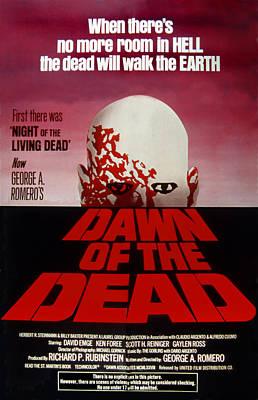 Dawn Of The Dead, 1978 Art Print
