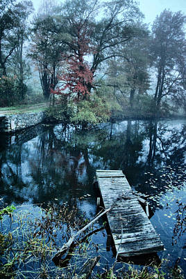 Photograph - Dawn Of The Dock  by Emily Stauring