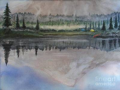 Dawn Reflections Art Print by Ronald Tseng