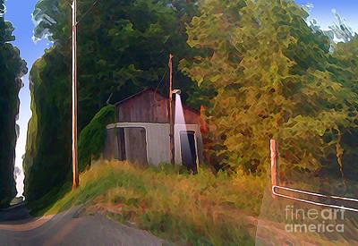 Hill Country Digital Art - Day Break On Flint Ridge by Charlie Spear