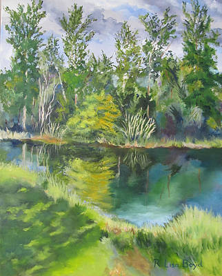Painting - Day In The Park Florida by Lisa Boyd