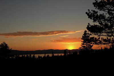Lake Tahoe Photograph - Day Is Done by LeeAnn McLaneGoetz McLaneGoetzStudioLLCcom
