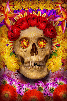 Photograph - Day Of The Dead - Dia De Los Muertos by Mike Savad