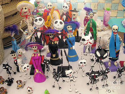 Photograph - Day Of The Dead 3 by Sonia Flores Ruiz
