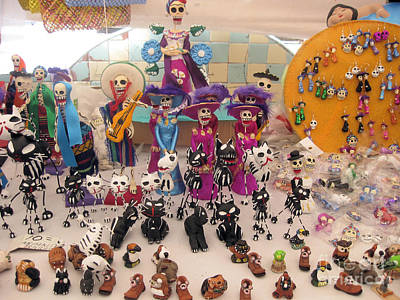 Photograph - Day Of The Dead 4 by Sonia Flores Ruiz