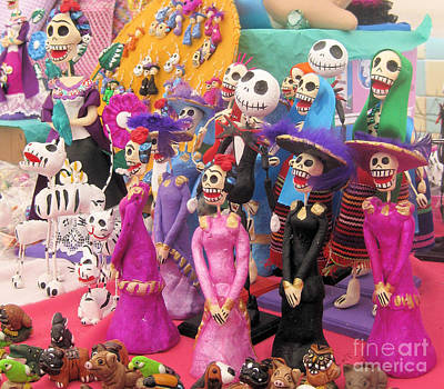 Photograph - Day Of The Dead 5 by Sonia Flores Ruiz
