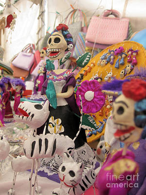 Photograph - Day Of The Dead 7 by Sonia Flores Ruiz