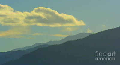 Photograph - Day Time Mountains by Julie Lueders