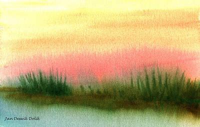 Daybreak Art Print by Jan Deswik