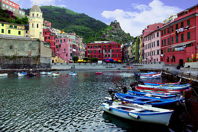 Photograph - Daybreak Vernazza by John Galbo