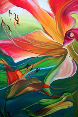 Painting - Daydream by Karen Hurst