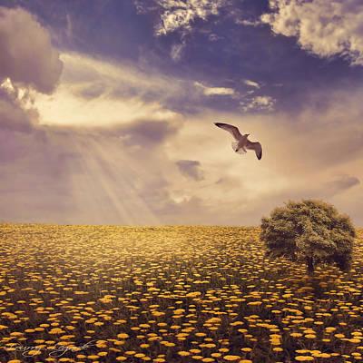 Weeds Digital Art - Daydream by Lourry Legarde