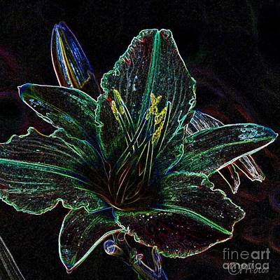 City Scenes - Daylilly by Phil Huettner