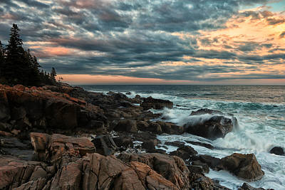 Photograph - Day's End At Otter Point by Sara Hudock