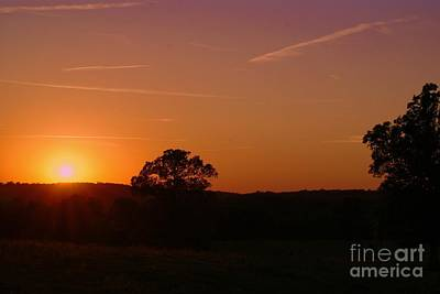 Photograph - Day's Final Rays by Julie Clements