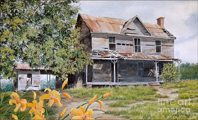 Painting - Days Gone By...sold by Sandy Brindle