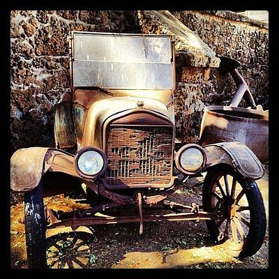 Car Photograph - Days Of Old by Darice Machel McGuire