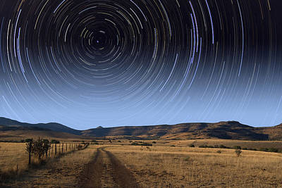 Photograph - Daytime Startrails by Larry Landolfi