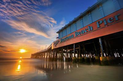 Photograph - Daytona Sunrise by Ryan Heffron