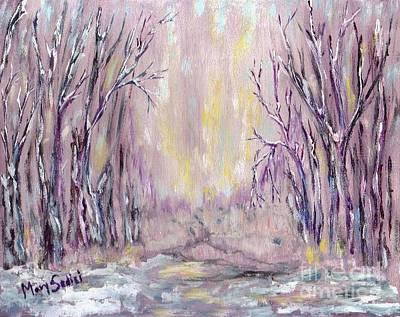 Painting - Dazzling Winter  by Mary Sedici