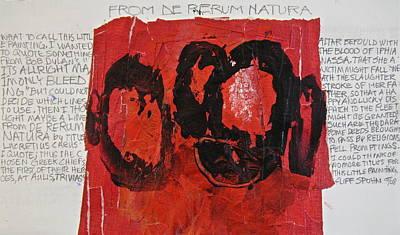 Painting - De Rerum Natura by Cliff Spohn