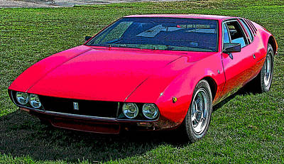 Photograph - De Tomaso Mangusta by Samuel Sheats
