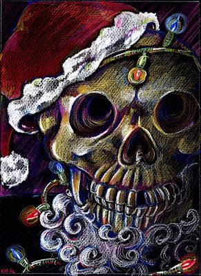 Drawing - Dead Christmas by Nada Meeks