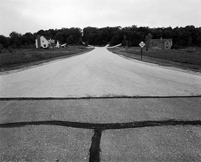 Dead End On Highway C Original by Jan W Faul