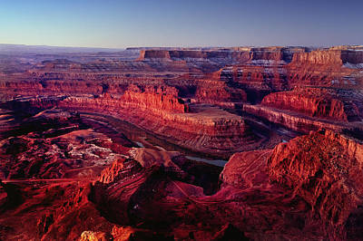 Dawn Photograph - Dead Horse Point by Wade Aiken