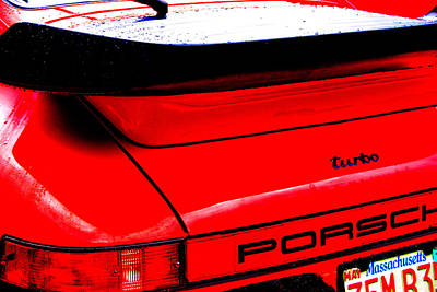Art Print featuring the photograph Dead Red Turbo by John Schneider