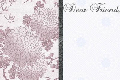 Dear Friend 3 Art Print