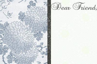 Dear Friend Art Print