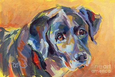 Soulful Eyes Painting - Dear Ole Annie by Kimberly Santini
