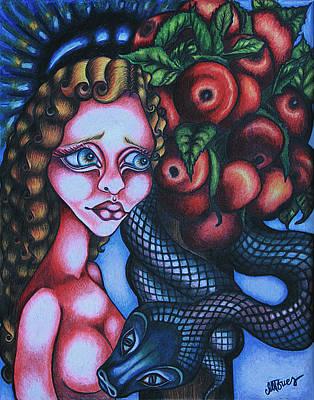 Death Art Print by Maryska Torresowa
