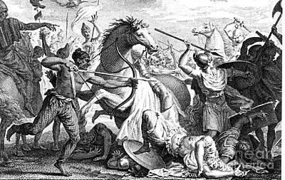 Marcus Licinius Crassus Photograph - Death Of Crassus At Carrhae Against by Photo Researchers