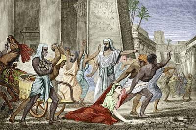 Death Of Hypatia In Alexandria Art Print