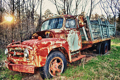 Photograph - Death Of Tow Mater by Kelly Reber