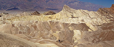 Photograph - Death Valley - Zabriski Point View by Levin Rodriguez