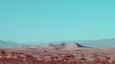 Rural Landscapes Photograph - Death Valley Dunes 2 by Naxart Studio