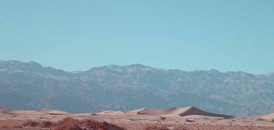 Rural Landscapes Photograph - Death Valley Dunes by Naxart Studio