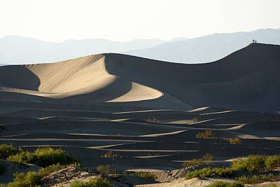 Photograph - Death Valley Dunes by Wes and Dotty Weber
