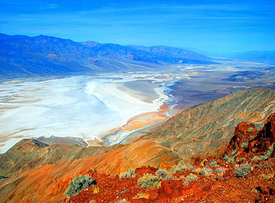 Photograph - Death Valley by Frank Houck