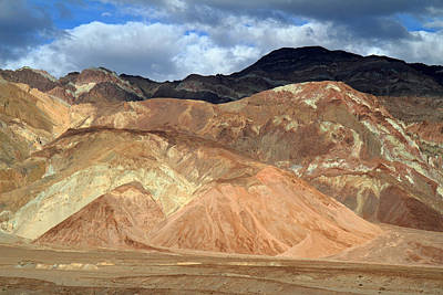 Photograph - Death Valley Mountain Landscape by Pierre Leclerc Photography