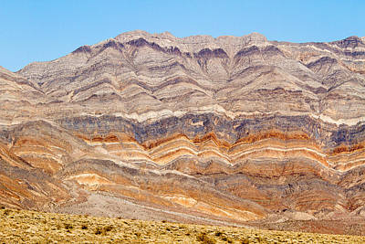 Photograph - Death Valley Stripes by Jean Noren