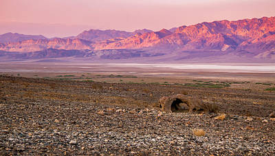 Photograph - Death Valley Sunset by Jean Noren