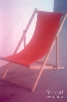 Photograph - Deauville Chair by Tamarra Tamarra