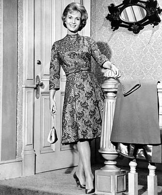Debbie Reynolds In A Travilla-designed Art Print by Everett