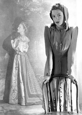 Deborah Kerr, Circa 1940s Art Print by Everett