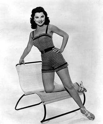 1950s Fashion Photograph - Debra Paget, Ca. 1950s by Everett