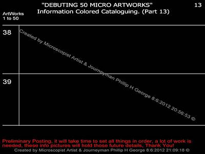 Digital Art - Debuting 50 Micro Artworks Part 13  by Phillip H George